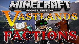 Vastlands FACTIONS SERVER! Minecraft PE! (Pocket Edition)