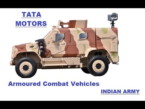 TATA 6x6, 4X4, 8X8, 10x10 Armoured Vehicles, Combat Support Vehicles Indian Army & other Force