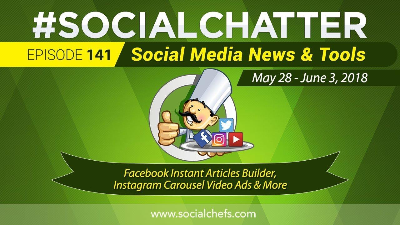 Social Media Marketing Talk Show 141 - Facebook Instant Articles Builder