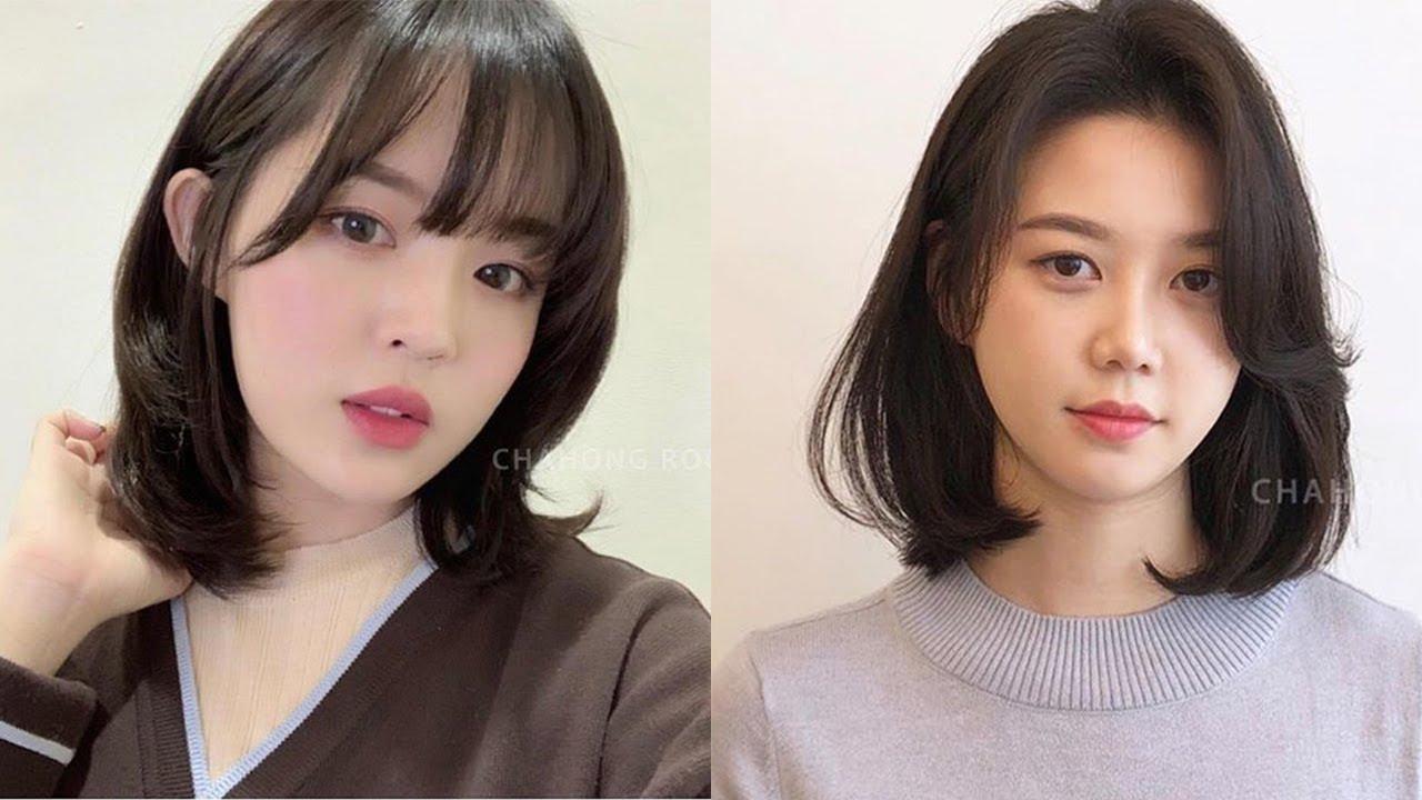 10 cute korean hairstyles 😂 hair beauty tutorials 😍 korean hairstyles compilation 😘