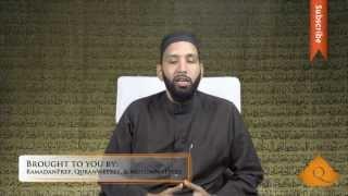 [Ramadan] Purification of the Soul - Omar Suleiman - Quran Weekly