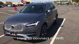 2018 Volvo XC90 - How to Connect to Wifi