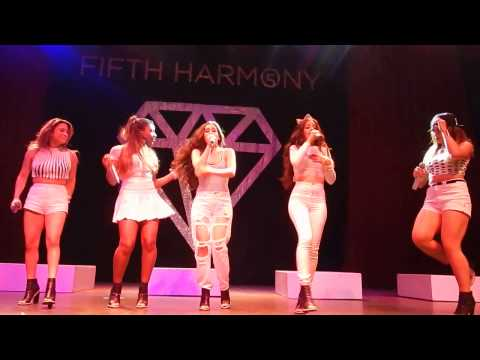"Fifth Harmony ""Leave My Heart Out Of This"" The Fillmore 6/4/14 5Th Times a Charm Tour"