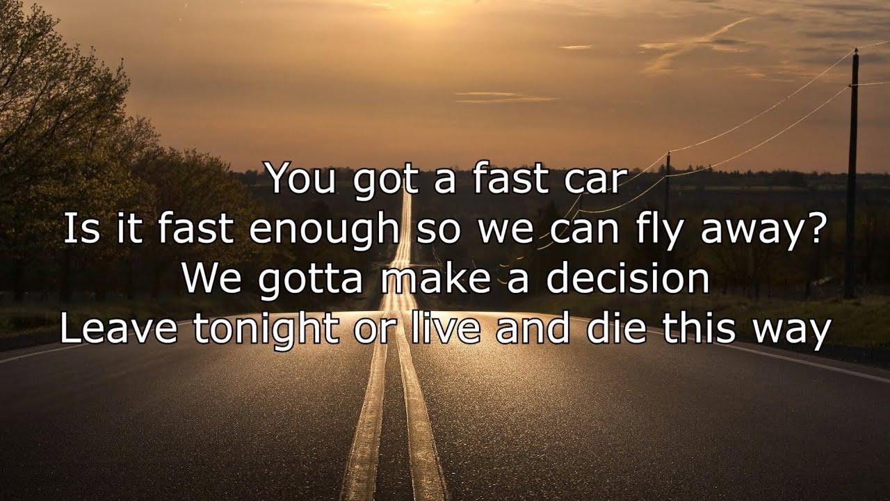 Fast Car Song: Jonas Blue Ft. Dakota