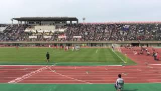 ガンバ大阪内定 東福岡11番 高江選手 直接FK