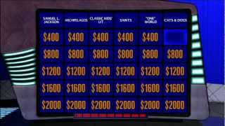 [Jeopardy 2012] - Offline Game # 2  ~ Sibling Rivalry