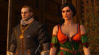 Geralt and Baroness Maria Louisa La Valette (Witcher 3 & 2 | History of Relations)