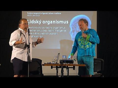 MUDr. Jan Šula a Jaroslav Dušek - Funkce receptorů a ligandů během meditace