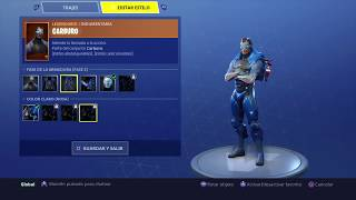 COMMENT CHANGER COLOR TO OMEGA SKIN AND CARBURO IN FORTNITE BATTLE ROYALE!