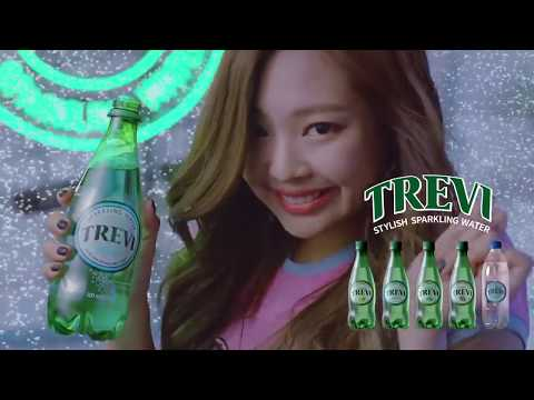 TREVI BLACKPINK TV commercial AD 2017, Song by Jaco Caraco