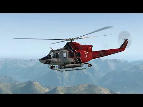 X-Plane 11 Forest Fire Operations