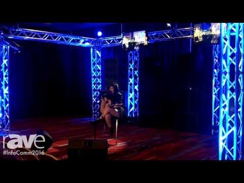 InfoComm 2016: Briana Tyson Performs at the PreSonus Audio Demo Room