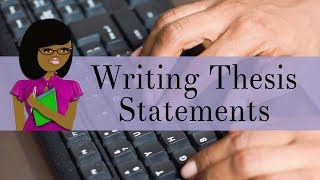 How to Write Thesis Statements(, 2016-10-04T18:07:58.000Z)
