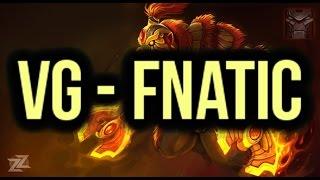 Fnatic (Team Malaysia) vs VG (Vici Gaming) Highlights ESL One Frankfurt 2015 Dota 2
