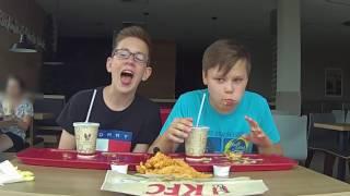 JEDZENIE W KFC NA CZAS! :D