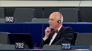 Pytanie Janusza Korwin-Mikkego do Zbigniewa Kuźmiuka o Nord Stream 2