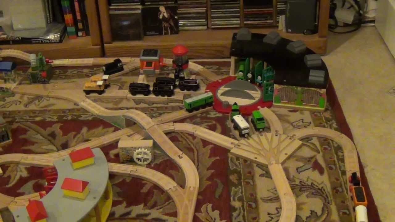Season 1 Thomas Wooden Railway Layout