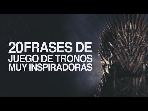 20 Frases De Juego De Tronos Muy Inspiradoras Youtube