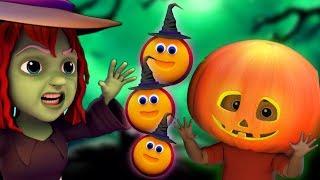 有一个可怕的南瓜| 孩子们的万圣节歌曲 儿童歌曲 | 万圣节音乐 | There is a Scary Pumpkin | Kids Tv China