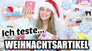 Ich teste WEIHNACHTS-DINGE aus der DROGERIE und anderen Geschäften!! ♡ BarbieLovesLipsticks thumbnail