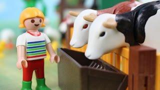 Pomoc na farmie   Playmobil   Bajki dla dzieci