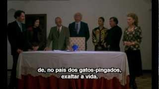 A Comédia de Deus - João César Monteiro (1995) - Seq. discurso p/ sócio francês.