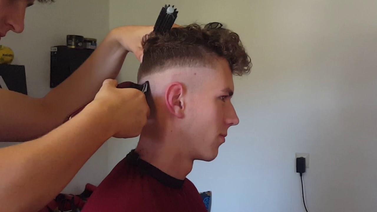 Mann übergang rasieren haare Haare selber