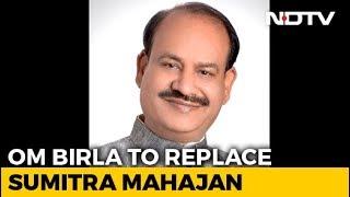 BJP& 39 s Om Birla Set To Be Next Lok Sabha Speaker