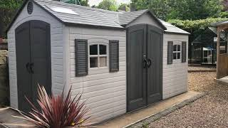 [151.41 KB] Product Review: Lifetime 15 x 8 ft Double Entrance Shed