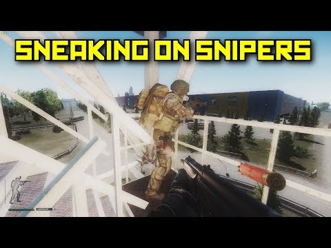 Sneaking Up On Snipers - Escape From Tarkov