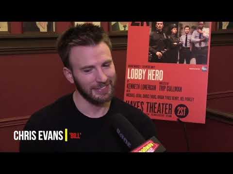 Chris Evans  Broadway Debut Lobby Hero