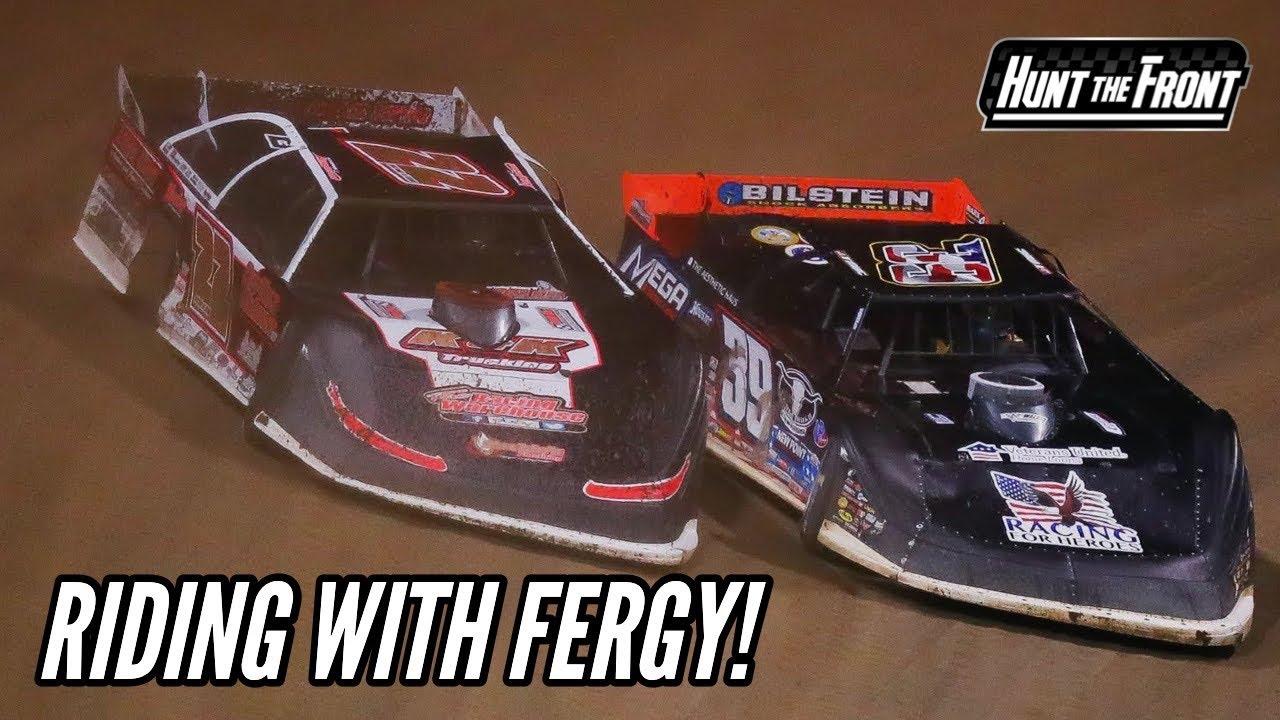 Following Chris Ferguson at Eldora Speedway's Dirt Late Model Dream