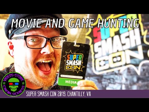 Super Smash Con 2019: Chantilly, VA | Movie And Game Hunting