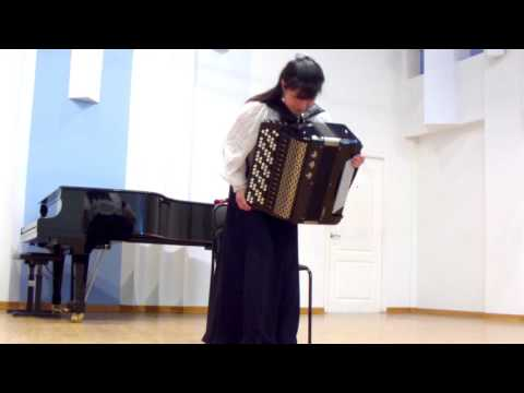 Concert of  North Korean accordionists, part 2