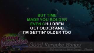 Landslide - Fleetwood Mac (Lyrics Karaoke) [ goodkaraokesongs.com ]