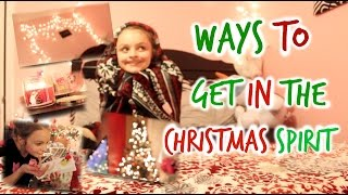 Ways To Get In The Christmas Spirit | Decorations, Food, & Olaf!