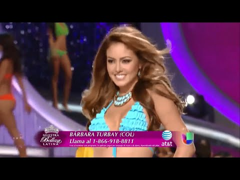 Barbara Turbay - Resumen de Nuestra Belleza Latina 2013 thumbnail