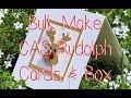Bulk CAS Rudolph Christmas Cards and Box