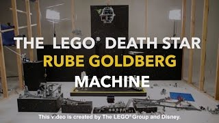 LEGO® Death Star Rube Goldberg Machine | Disney
