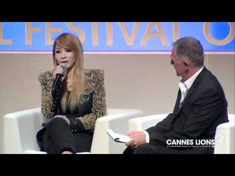 Cheil Worldwide Seminar at Cannes Lions 2012 2NE1 CUT