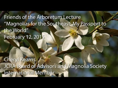 """""""Magnolias for the Southeast: My Passport to the World"""""""