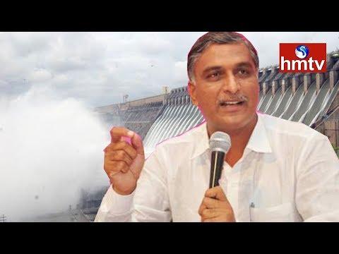 Harish Rao Speech   Releases Water to Left Canal from Nagarjuna Sagar   Telugu News   hmtv