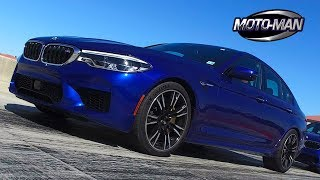2018 BMW M5 -  F90 5 Series - ON TRACK REVIEW