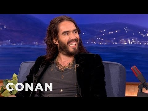 Russell Brand Has A Special Friendship With David Beckham  CONAN on TBS