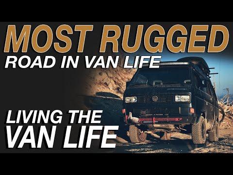 MOST Rugged Road In Van Life - Living The Van Life