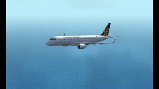 Embraer E190 | Koln - Ibiza | IVAO | Landing