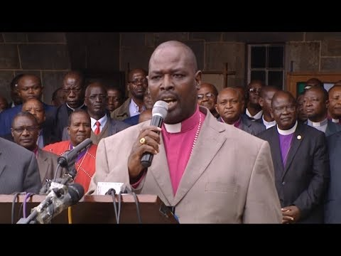 """""""Will the audit on IEBC forms 34A and B bring closure to Kenyans? Jackson Ole Sapit-ACK Archbishop"""