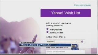 Yahoo Username Wish List