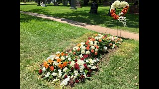 Cedric Benson burial at Texas State Cemetery
