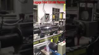 ABS.PC Two Line Luggage Sheet making machine 008618867757225